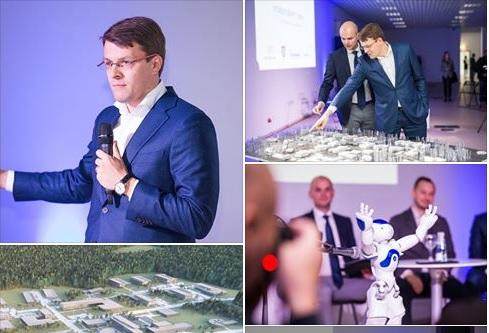 Atidarytas Vilniaus SMART PARKAS